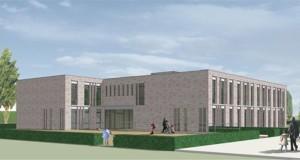 nieuwe schoolgebouw
